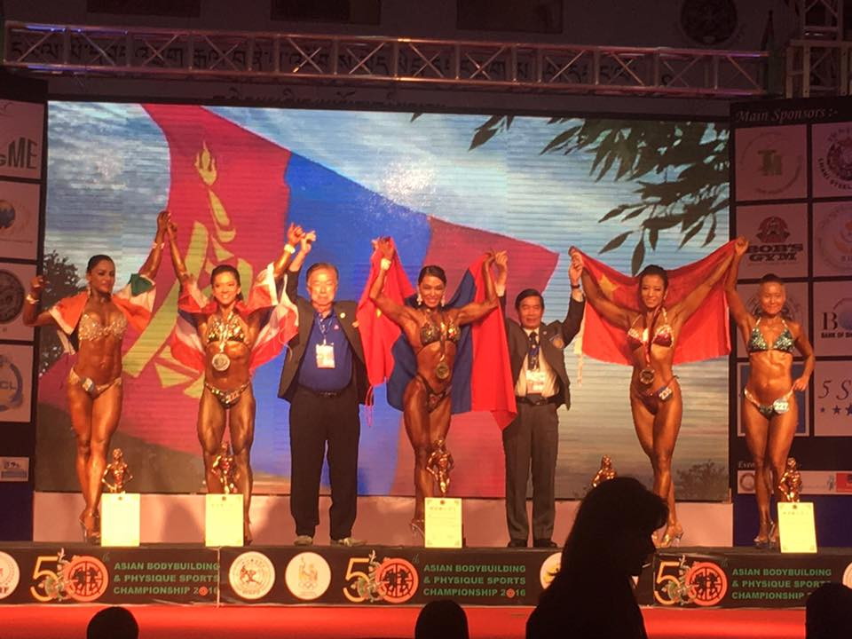 """А.Ичинноров """"Бодибилдинг""""-ийн дэлхийн аварга боллоо"""